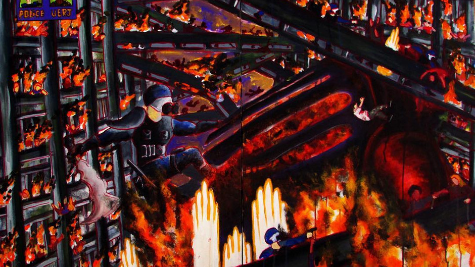 Há um incêndio no mundo