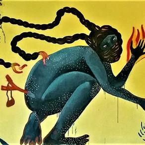 Urbana e ancestral: a mulher guerreira de Carolina Itzá