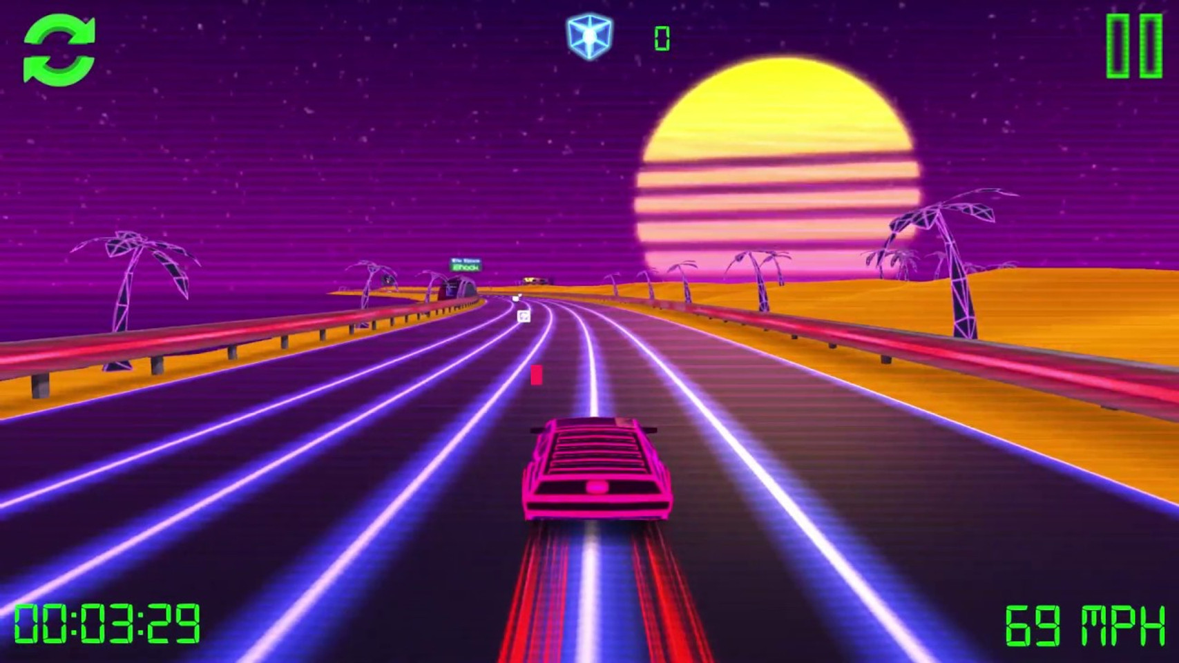 Retro Drive IOS Trailer