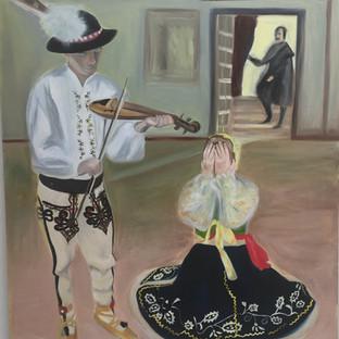 The Lament, 150 x 200 cm
