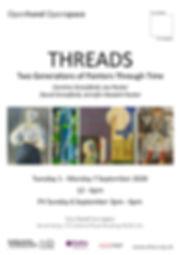 Caroline Streatfield exhibition poster P