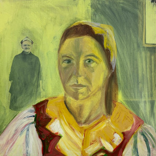 Genetic Memory, Oil on canvas,60 x 60 cm