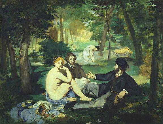 Édouard_Manet_-_Déjeuner_sur_l'herbe_(Co