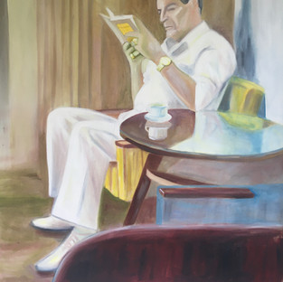 Oil on canvas, 120 x 90 cm