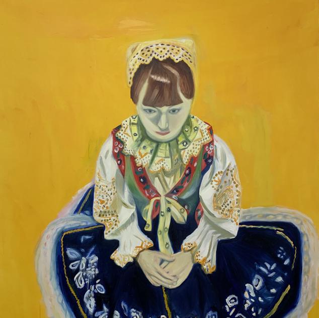 Little Dreamer, 160 x 130 cm oil on canvas