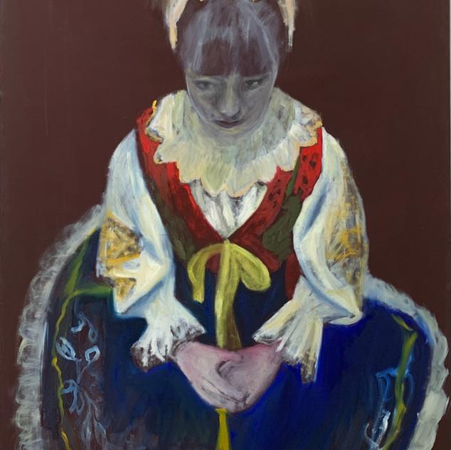 Night Dreamer 120 x 90 cm oil on canvas