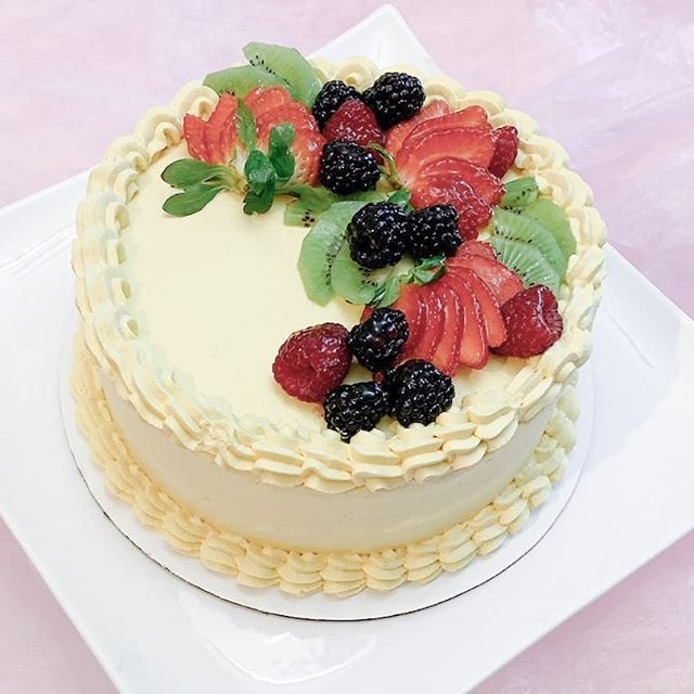 Durian Chantilly Cream Cake