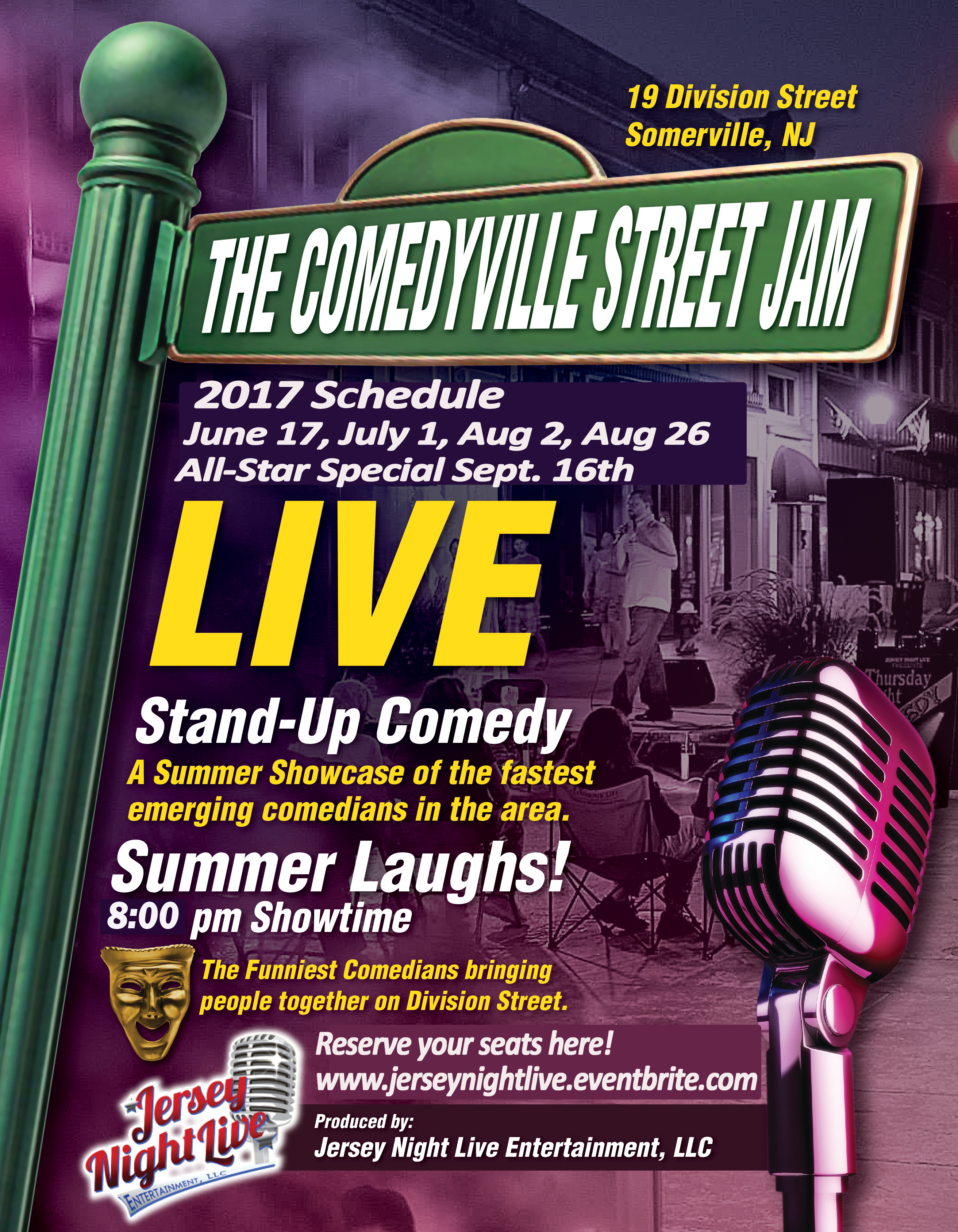 Comedyville Street Flyer -2017-Season-5.2