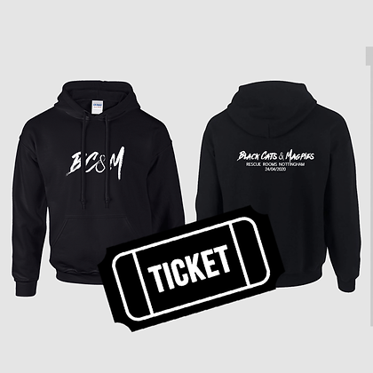 Rescue Rooms Hoodie & Ticket Bundle