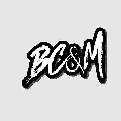BC&M Sticker