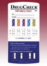 DrugCheck Dips - 1 - 10 Panels