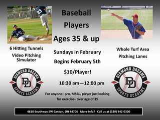 Attention Baseball Players 35 & up!
