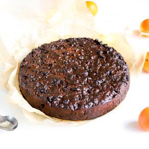 Brandintas vaisių pyragas