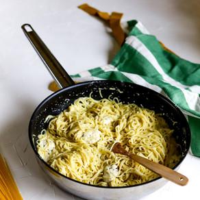 4 sūrių spagečiai