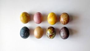 Natūralus kiaušinių marginimas