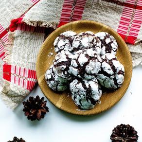 Minkšti šokoladiniai sausainiai