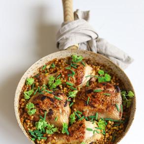 Kuskusas su vištiena marokietiškai