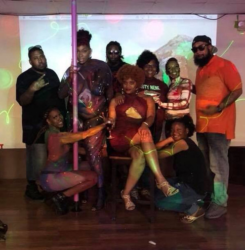 I'm thankful for all these people in this picture! They are all so dope! They made my event happen and it was a success!! I love all y'all!!