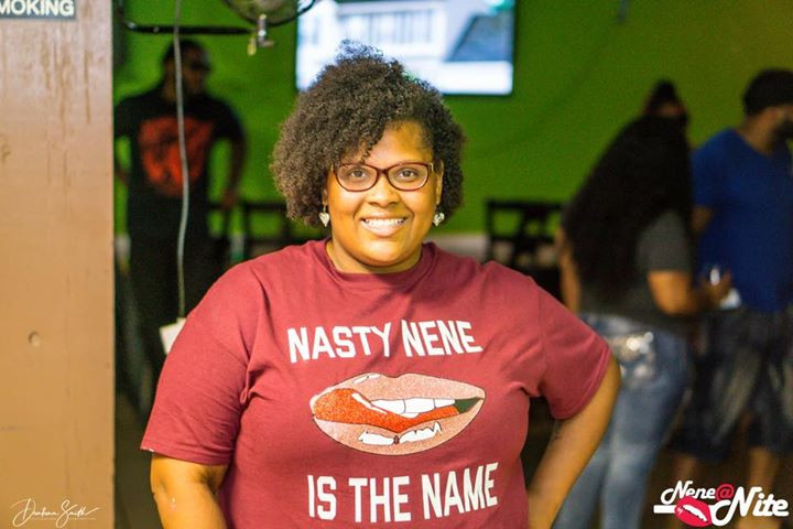 I mean the shirt says it all! NeNe at Nite
