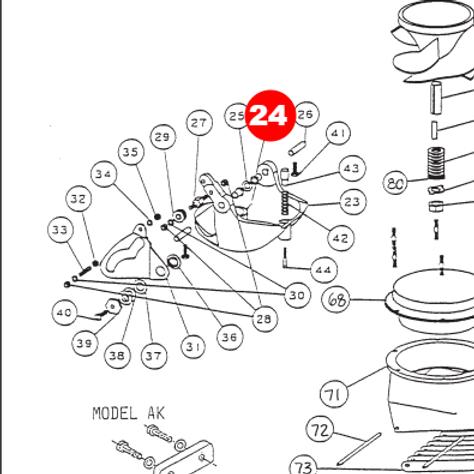 Втулка заслонки реверса (малая серия, средняя серия)