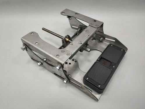 Малый регулируемый транец винт/водомёт для моторов до120 кг.
