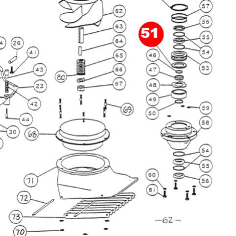 Проставка подшипника 7205 малой и средней серии