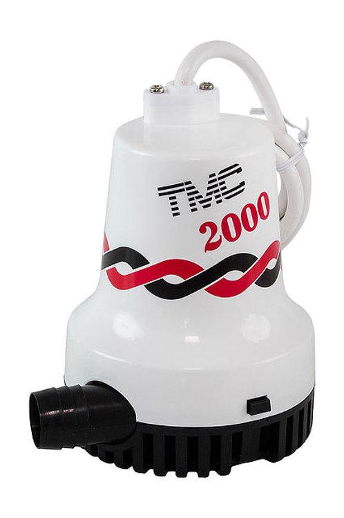 Помпа осушительная, 12 В, 2000GPH (7570 л/ч)