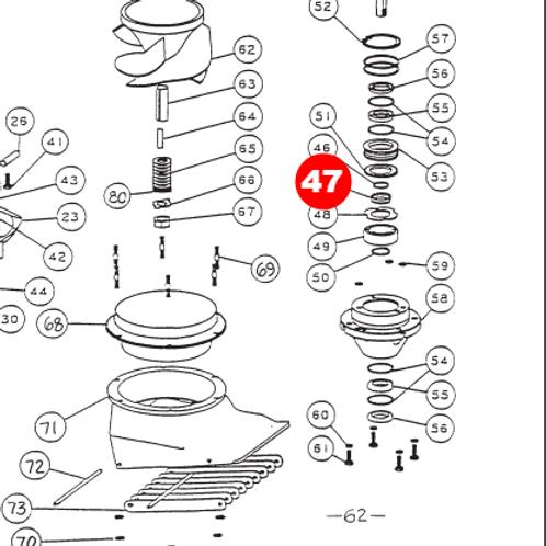 Втулка подшипникового узла малая и средняя серия