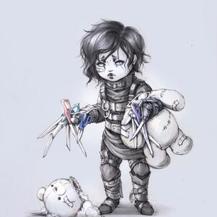 Child Scissorhands
