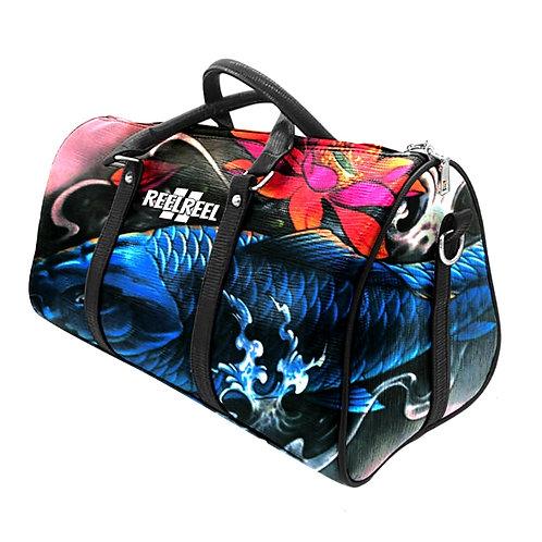 Blue Fish Duffle Bag