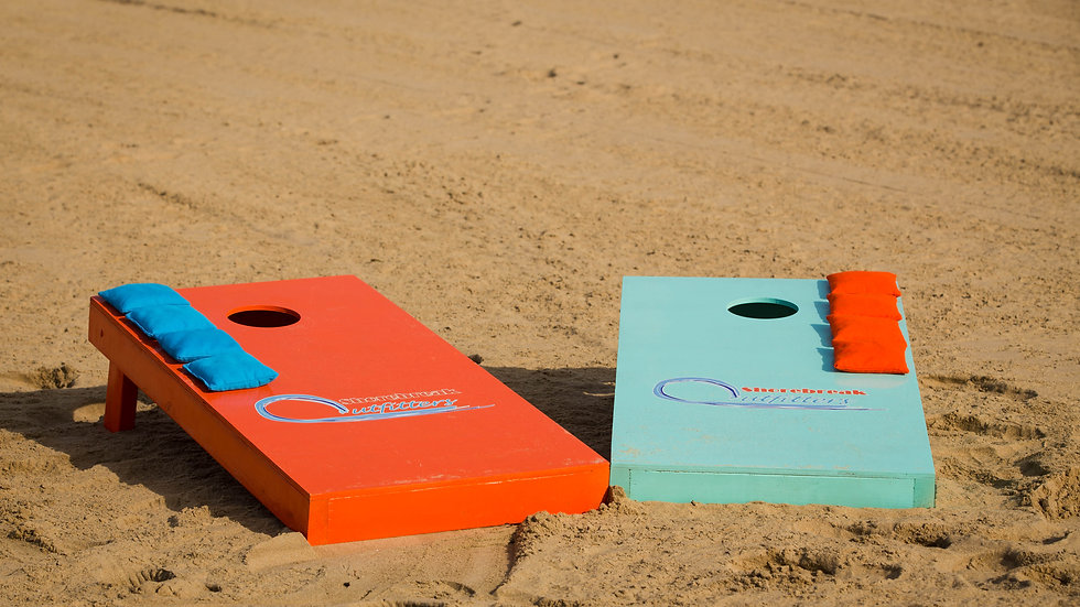 Cornhole Boards and Bags