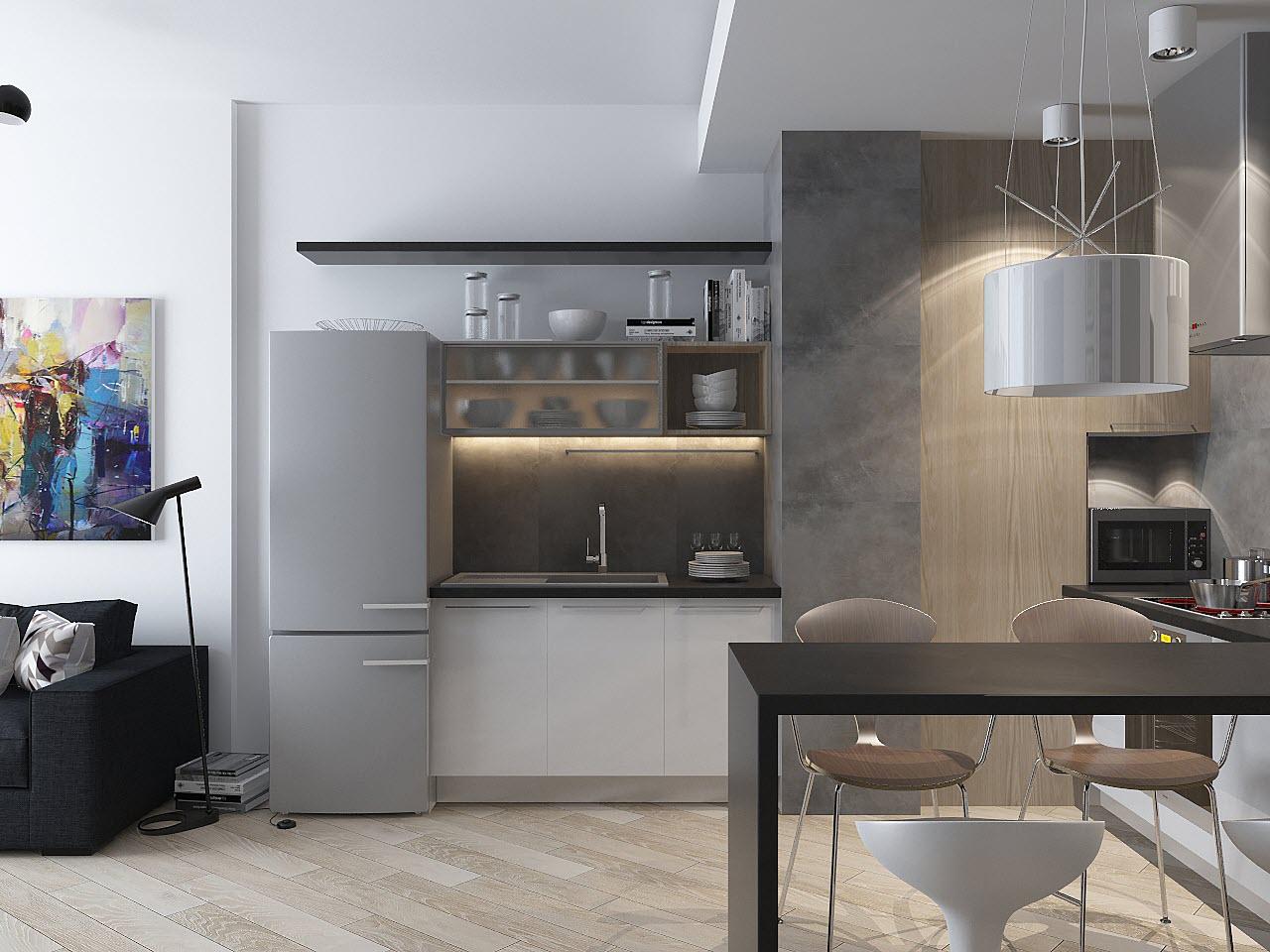 дизайн интерьера типовой квартиры