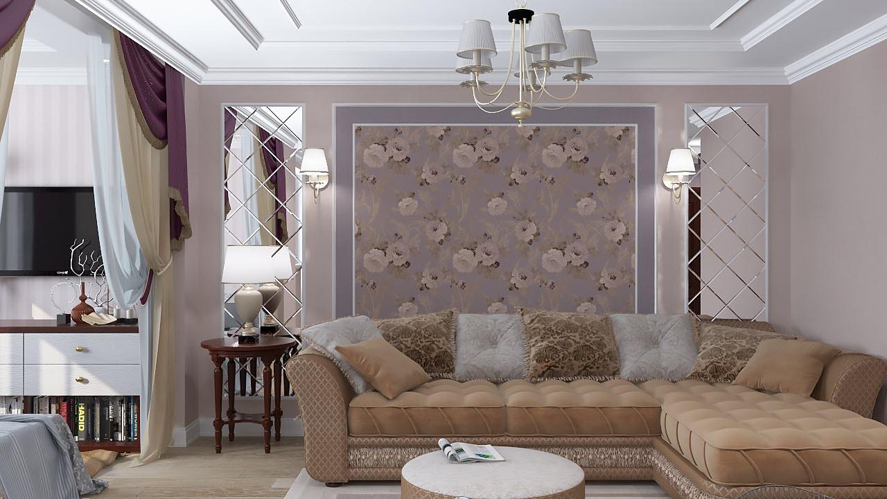 дизайн однокомнатной квартиры 42 кв