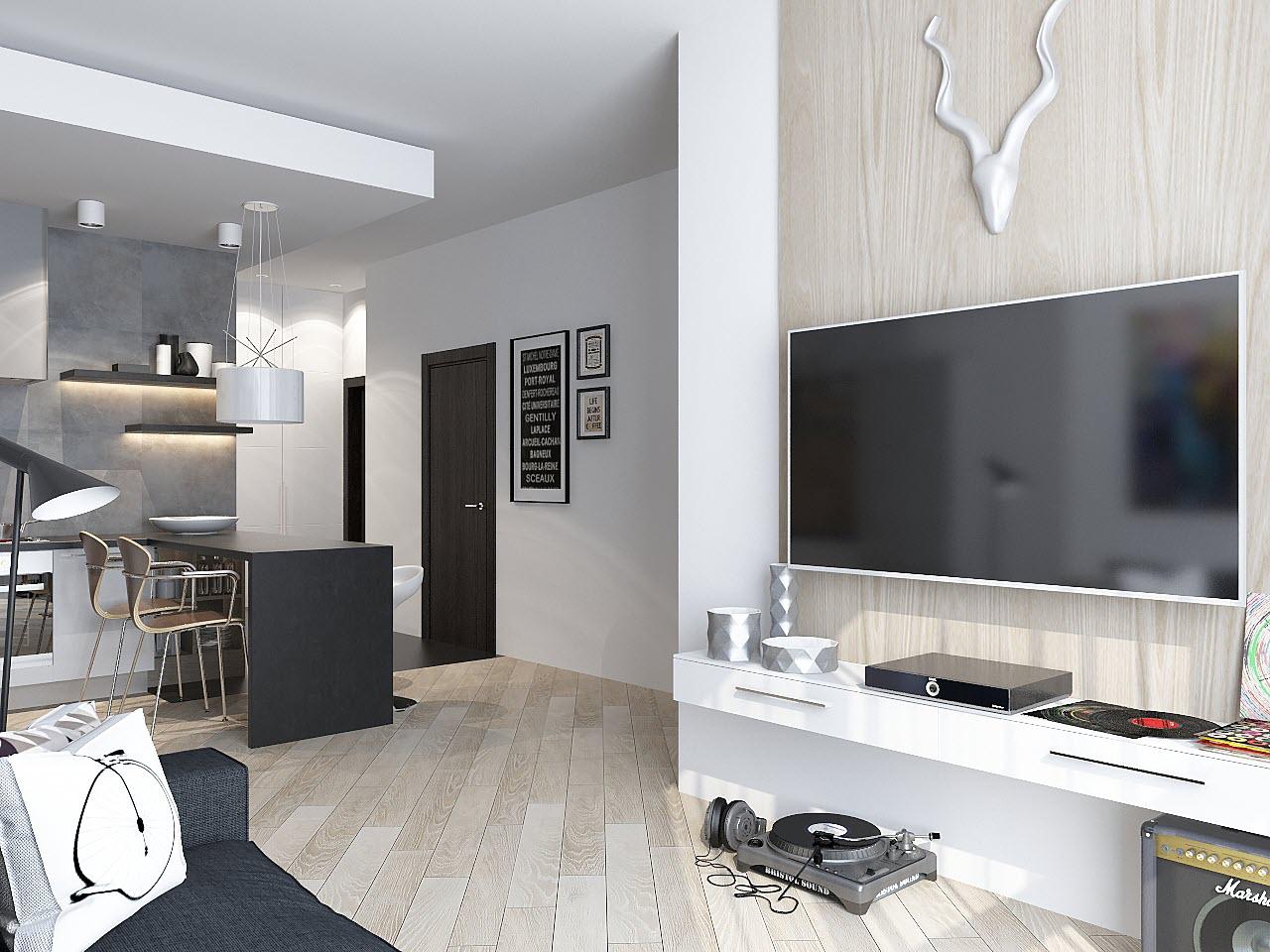 дизайн 1 комнатной квартиры 38 кв м