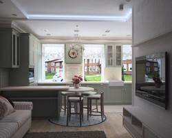 разработка дизайна интерьера квартир