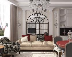 Дизайн 1 комнатной квартиры классика