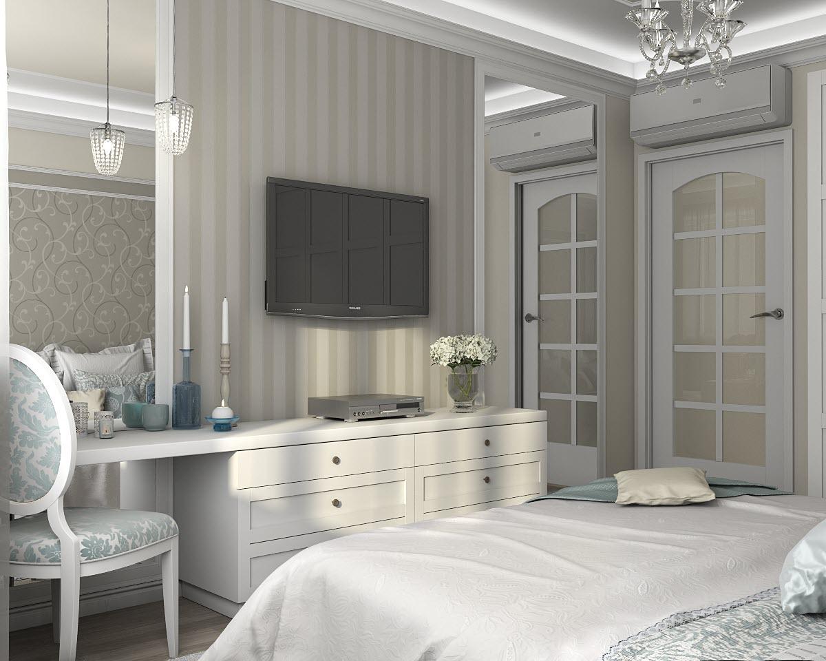 классический дизайн интерьера кварти