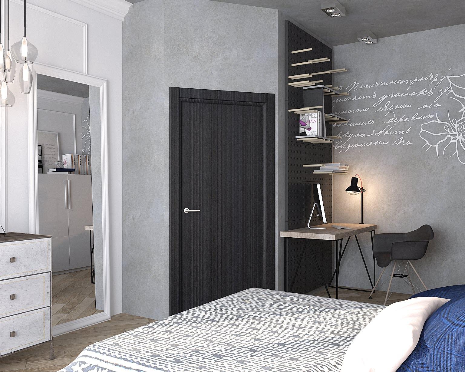 дизайн однокомнатной квартиры 31 кв