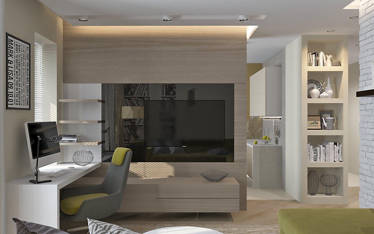 проект дизайна квартиры п 44
