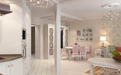 дизайн внутреннего интерьера дома