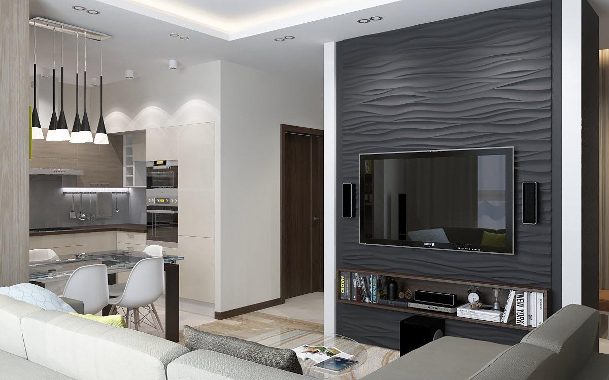 интерьер дизайн 3 комнатной квартиры