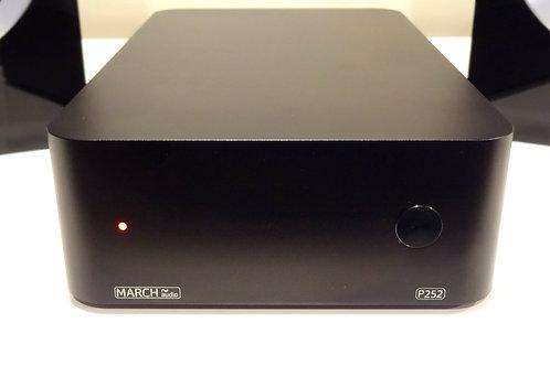 P252 250 Watt Stereo Power Amplifier