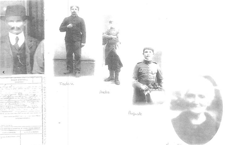 Louis Gendre, Auguste Gendre... les ancêtres