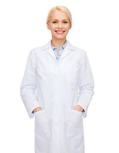 healthcare and medicine concept - smilin
