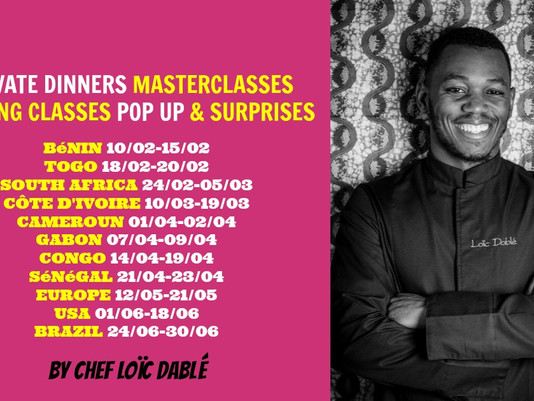 📆New dates! 🌍 New Places #AfricanFoodArtTour ✈️✈️✈️ #Travel #Art #Food