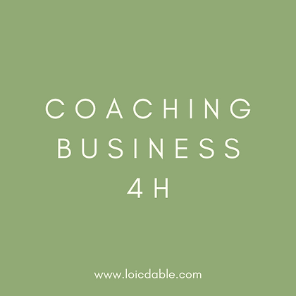 Coaching New Business 4H