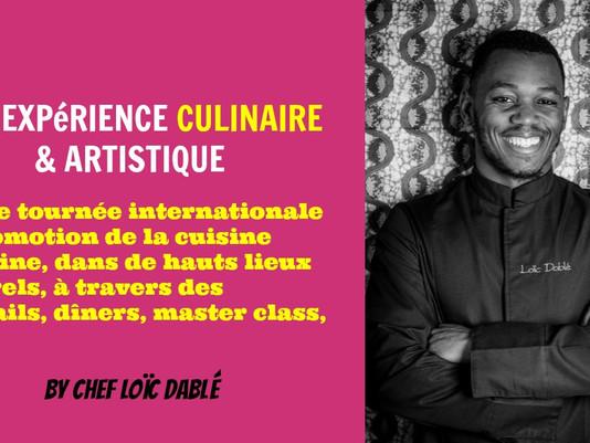 AFRICAN FOOD ART TOUR (DOSSIER ACTUALISÉ - VERSION FRANÇAISE)