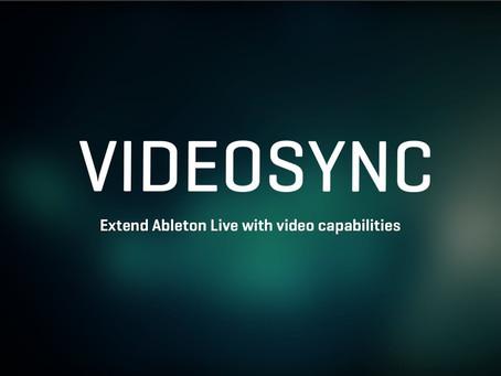 Videosync & Ableton Live 10