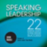 Speaking Leadership Book Cover