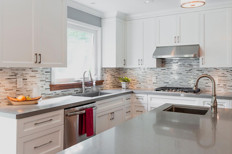 White Custom Kitchen | Custom Made Kitchens - Victoria BC